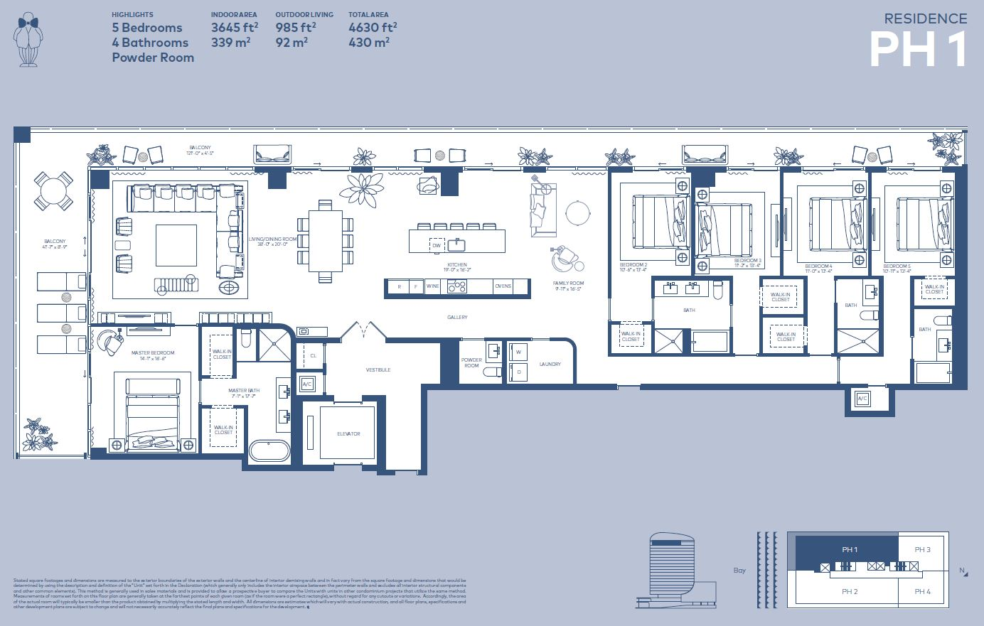 Floorplan PH 1